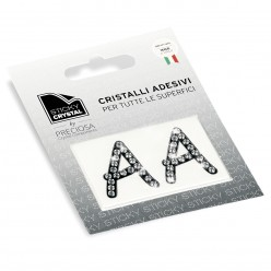 STICKY CRYSTAL COLLECTION LETTERA A