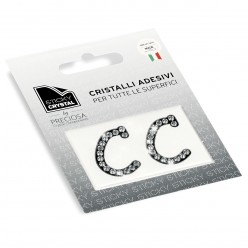 STICKY CRYSTAL COLLECTION LETTERA C