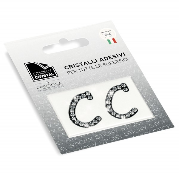 STICKY CRYSTAL® COLLECTION LETTERA C