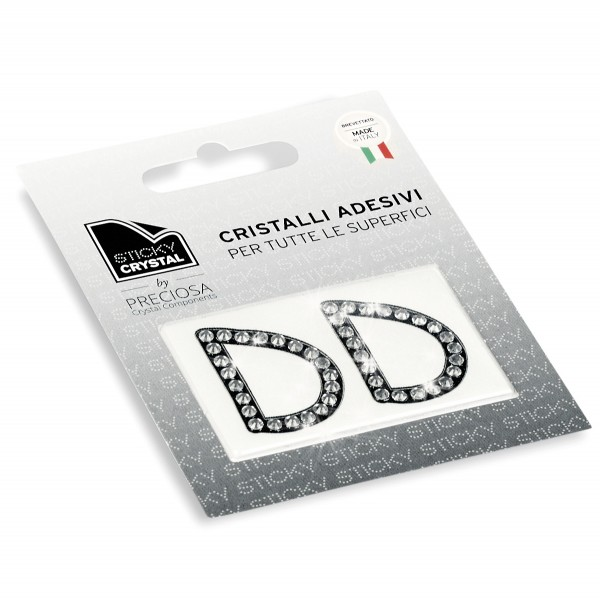 STICKY CRYSTAL® COLLECTION LETTERA D