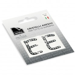 STICKY CRYSTAL COLLECTION LETTERA E
