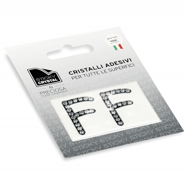 STICKY CRYSTAL® COLLECTION LETTERA F