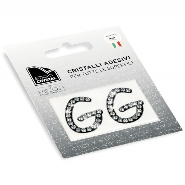 STICKY CRYSTAL® COLLECTION LETTERA G