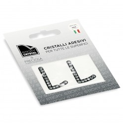 STICKY CRYSTAL® COLLECTION LETTERA L