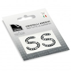 STICKY CRYSTAL COLLECTION LETTERA S