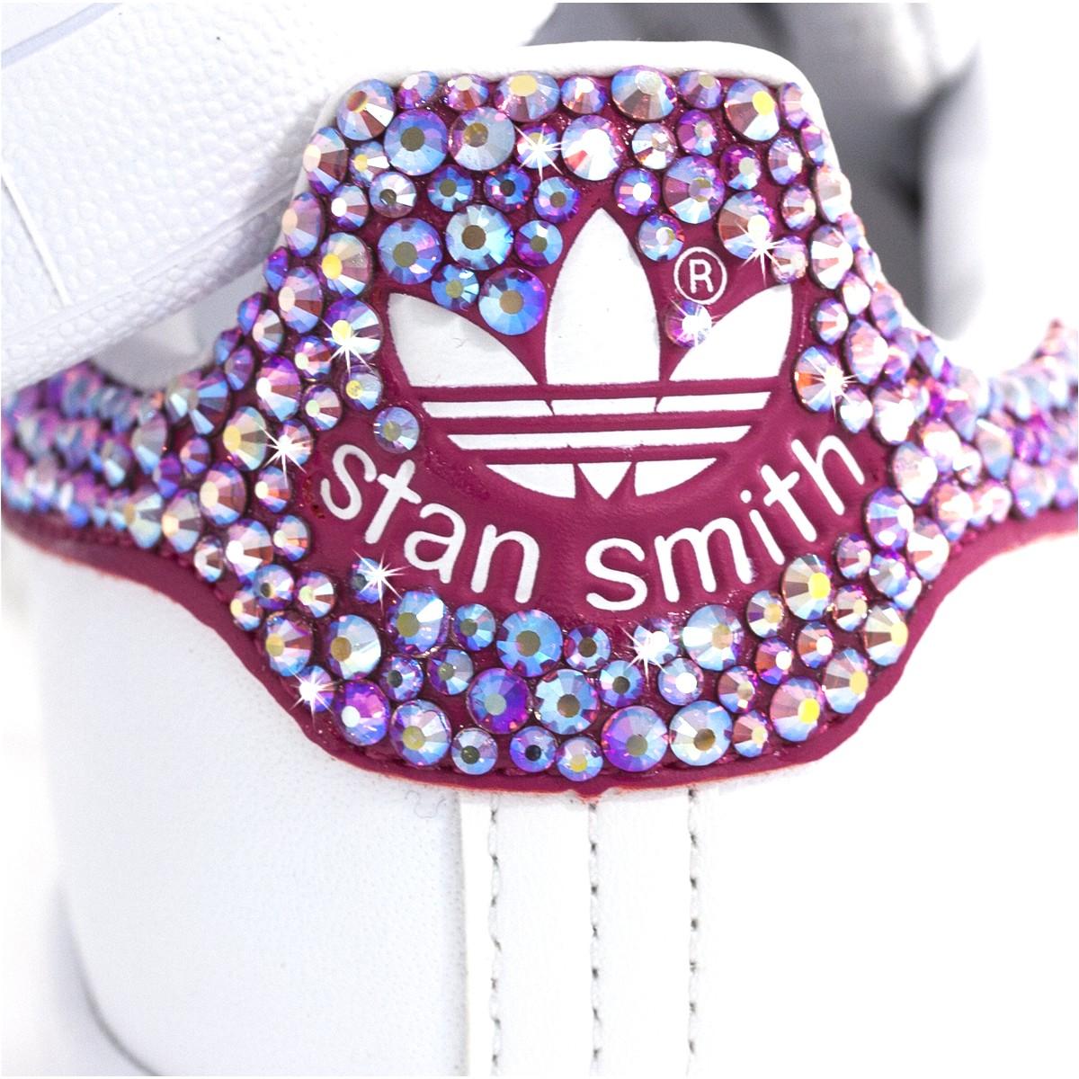 adidas stan smith rosa brillantini