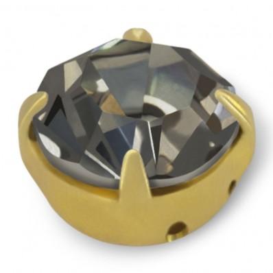 STRASS MAXIMA SS40 BLACK DIAMOND-ORO-20PZ