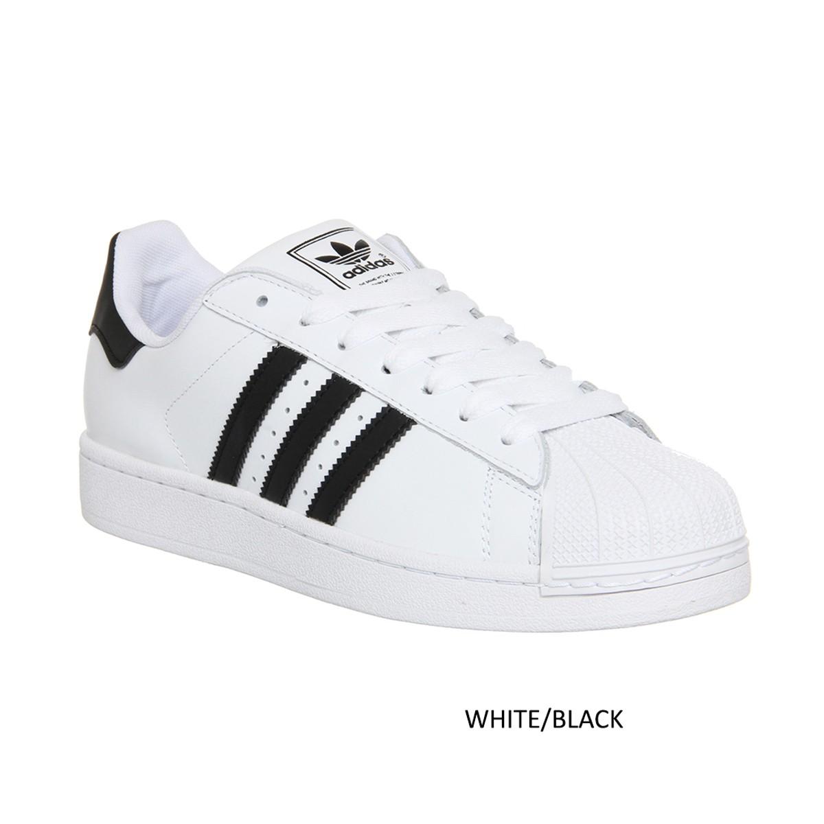 adidas nero with bianca stripes scarpe