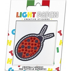 Light Patch Sticker Cristalli Rosso