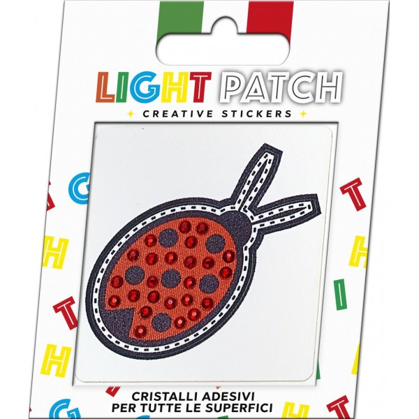 Light Patch Sticker Cristalli Rosso