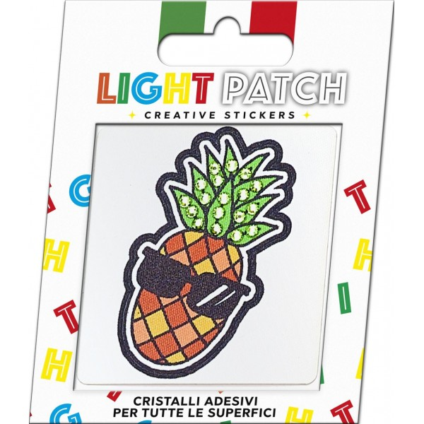 Light Patch Sticker Cristalli Verde