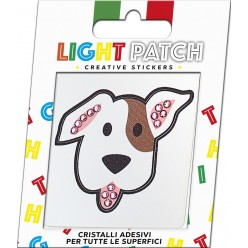 Light Patch Cane Sticker Cristalli Amethyst