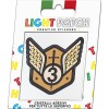 Light Patch Stemma Militare 1 Sticker Cristalli Sun