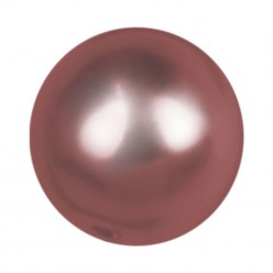 PERLA TONDA MM8 BORDEAUX-40PZ
