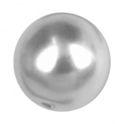 PERLA TONDA MM8 LIGHT GREY-40PZ