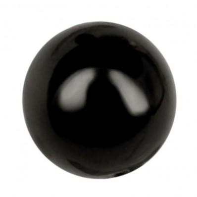 PERLA TONDA MM8 BLACK-40PZ