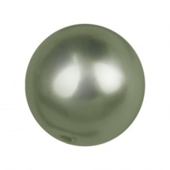 PERLA TONDA MM6 DARK GREEN-40PZ