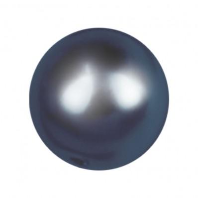 PERLA TONDA MM6 DARK BLUE-40PZ