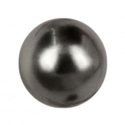 ROUND BEADS MM6 DARK GREY-40PZ