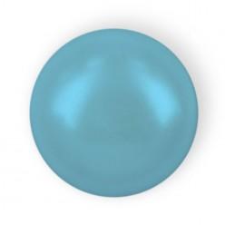 MEZZA PERLA TONDA MM6 BLUE HOT FIX-144PZ
