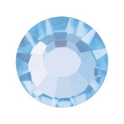 PRECIOSA THERMOADHESIVE SS30 (6, 5 mm) LIGHT SAPPHIRE-Pack of 144