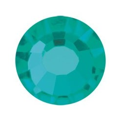 PRECIOSA THERMOADHESIVE SS30 (6, 5 mm) BLUE ZIRCON-Pack of 144
