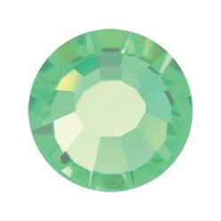 PRECIOSA THERMOADHESIVE SS30 (6, 5 mm) PERIDOT-Pack of 144