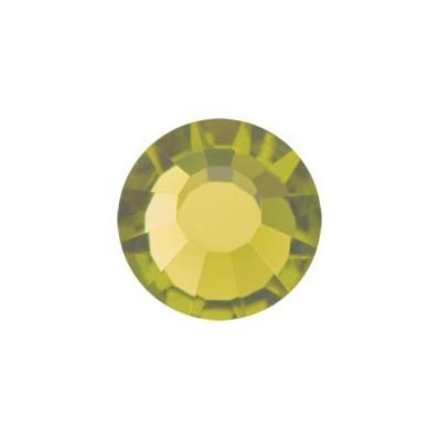 STRASS PRECIOSA TERMOADESIVO SS30(6,5MM) OLIVINE-144PZ