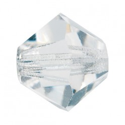 PRECIOSA CRYSTAL BICONE MM4-Pack of 144