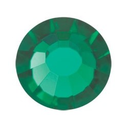 PRECIOSA THERMOADHESIVE SS10 (3 mm) EMERALD-288PZ