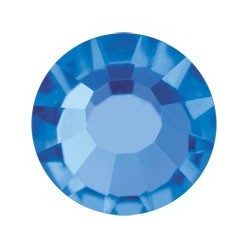PRECIOSA THERMOADHESIVE SS16 (4 mm) SAPPHIRE-Pack of 144